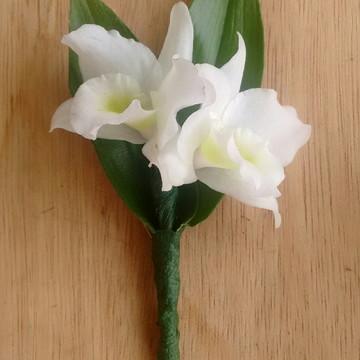Flor de lapela p/ noivo