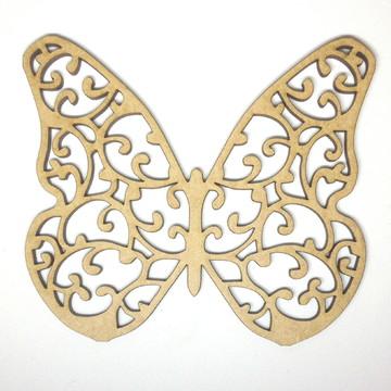 borboleta em mdf com 8 cm de altura