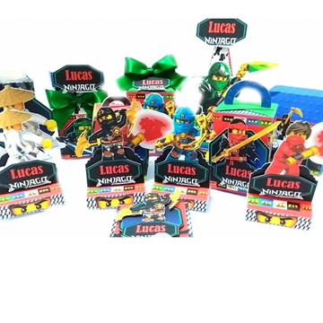 Forminha ou porta de brigadeiro doces finos Lego Ninjago