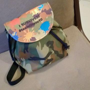 mochila saco lembrancinhas personalizadas