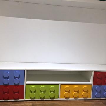 Armário Organizador Lego