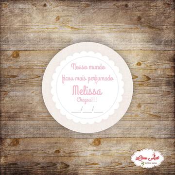 Tag agradecimento - Maternidade