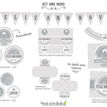 FESTA ANO NOVO - kit digital