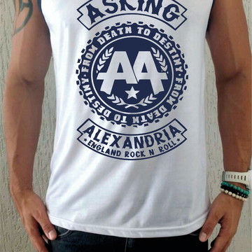 Camiseta Regata Asking Alexandria