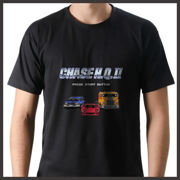 Camiseta Geek Games Chase HQ 2