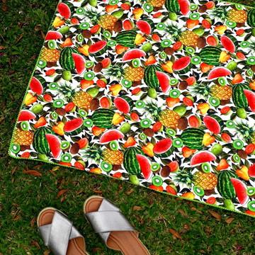 Canga toalha Frutas - estampa exclusiva