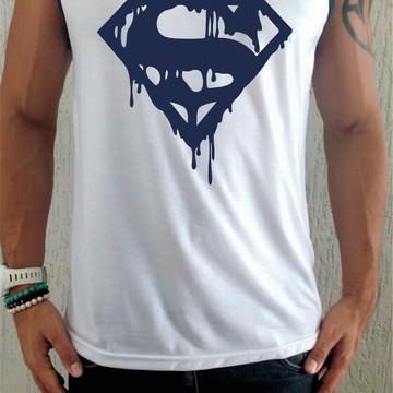 Camiseta Regata Super Man