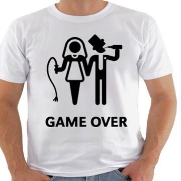 2 camisetas game over