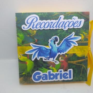 Álbum / Caixa de Recordações do Bebê Rio