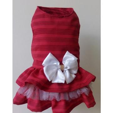 Vestido Pet Vermelho