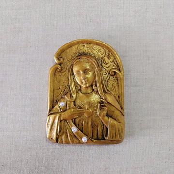Medalhão Sagrado Coração de Maria