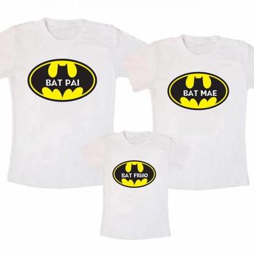 Kit Camiseta Batman