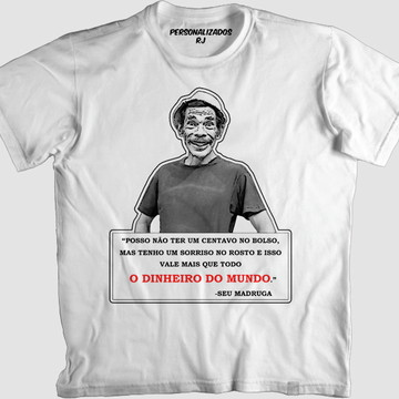 8fe65641cfb27 Camisa FRASE SEU MADRUGA