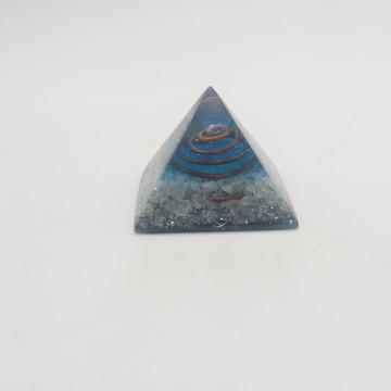 Orgonite Pirâmide Pequena Opalina