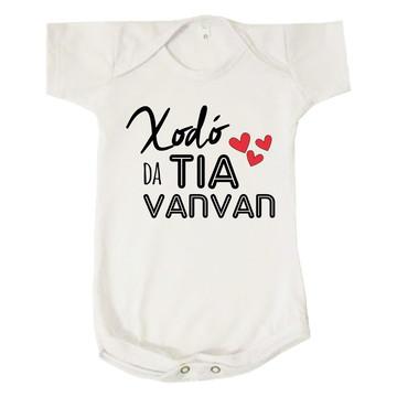 Body Bebê Unissex Xodo da Tia Van Personalizado Titia