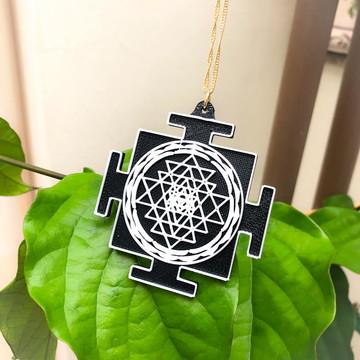 Colar SRI YANTRA - Medalhão