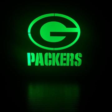 Luminária Abajur Lanterna Green Bay Packers