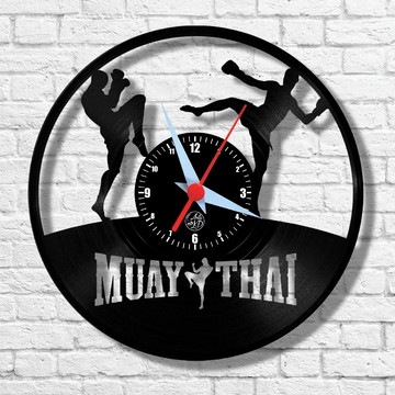 Muay Thai - Relógio de Parede