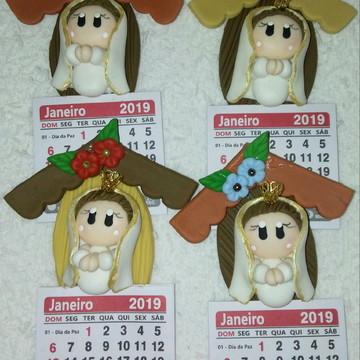 Imã calendàrio Nossa Senhora de Fàtima