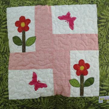 Capa para almofada - patchwork 11-18