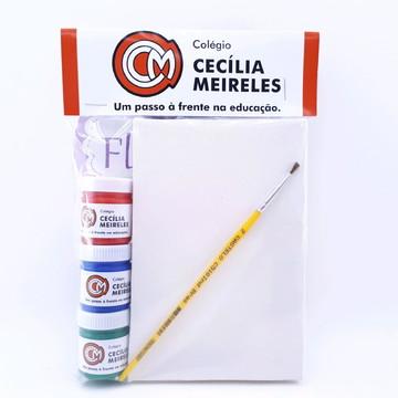 Kit Pintura Lembrancinha Brinde Escolar Corporativo