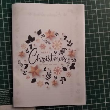 Planner Natal não datado A5