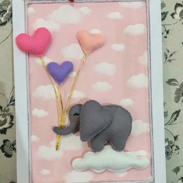 Porta maternidade elefante