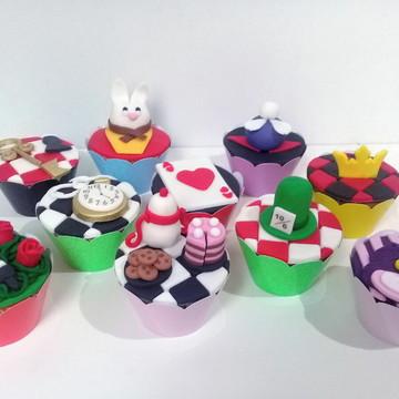 Cupcakes - Alice no País das Maravilhas