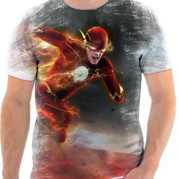 Camiseta Black Friday Personalizada Série Flash Tamanho P