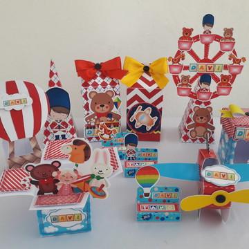 Kit Brinquedo 90 Personalizados