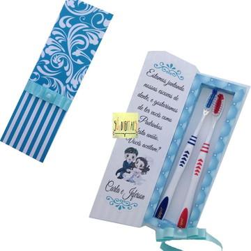 caixa escova de dente azuis ( arquivo digital)