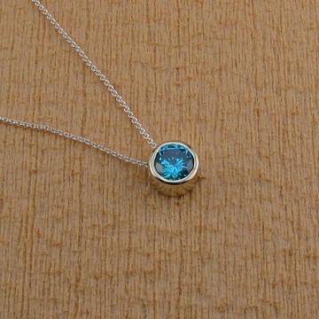 Ponto de luz azul, 10 mm