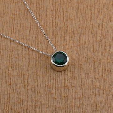 Ponto de luz verde, 10 mm