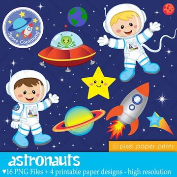 Kit Digital Astronauta Menino