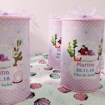 Cofre personalizado Chá de Bebê
