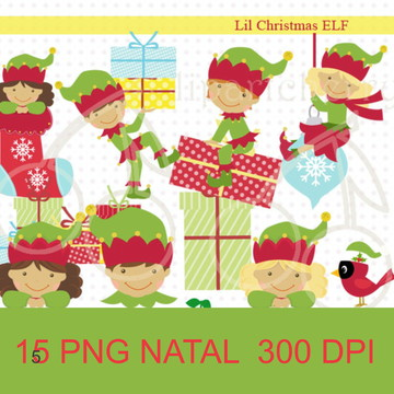 #2118 Kit Scrapbook digital natal