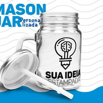 Mason Jar Exclusiva - 400ml