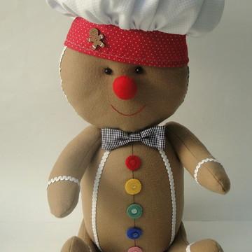 Gingerbread em Feltro 25cm