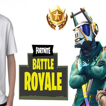 camisa adulto ou infantil fortnite battle royale model 01