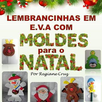 Apostila Digital Lembrancinhas E.V.A Natal