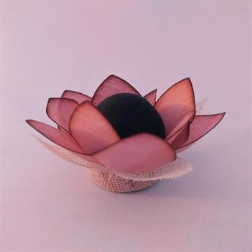 Forminha de doce - Flor Apiadinha Rosa Antigo