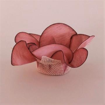 Forminha de doce - Rosa Antigo