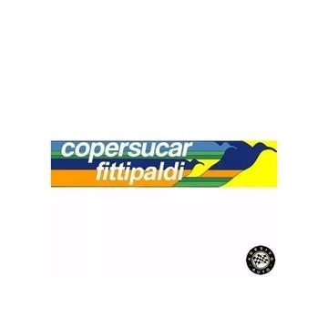 Adesivo Copersucar Fittipaldi F1 Formula 1 Pronta Entrega