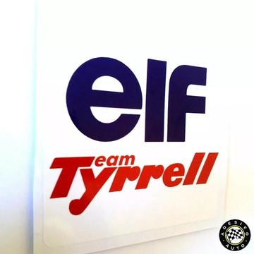 Adesivo Elf Team Tyrrell F1 Formula 1 A Pronta Entrega