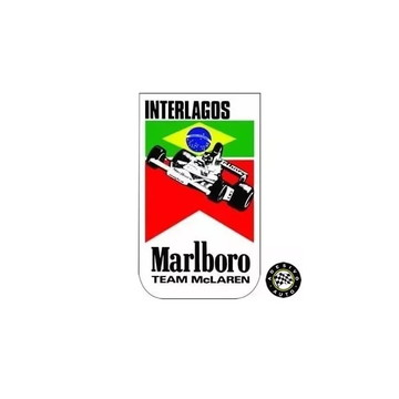 Adesivo Marlboro Mclaren Interlagos 1976 F1 Formula 1