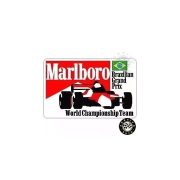 Adesivo Marlboro McLaren Brazilian GP F1 Formula 1