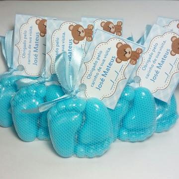 Lembrança de Maternidade - Sabonete Pezinhos de Bebê