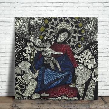 Azulejo Decorativo - Nossa Senhora do Rosário