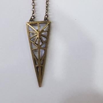 colar bijuteria ouro velho