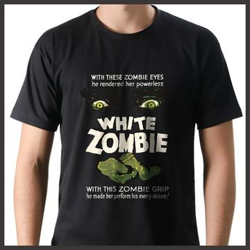 Camiseta Poster Filme Vintage Terror White Zombie